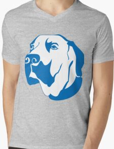 Dog elegant Paintings Mens V-Neck T-Shirt