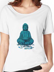 Buddha blue Women's Relaxed Fit T-Shirt