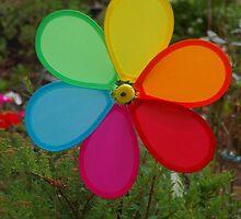 Rainbow Windmill by lezvee
