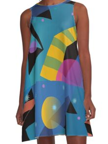 Stairway to Stars A-Line Dress