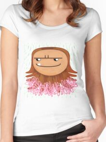 Sass-Quatch by VIXTOPHER Women's Fitted Scoop T-Shirt