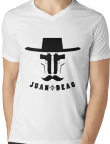 Juan Deag Mens V-Neck T-Shirt