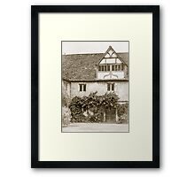 A Quiet Corner Framed Print