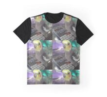 Cockatiel Calculator Graphic T-Shirt