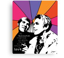 Love and Fascination  Canvas Print