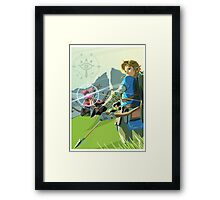 Breath of the Wild - Legend of Zelda Framed Print