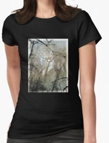 Bidwell Trees Womens Fitted T-Shirt