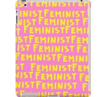 Feminist. iPad Case/Skin