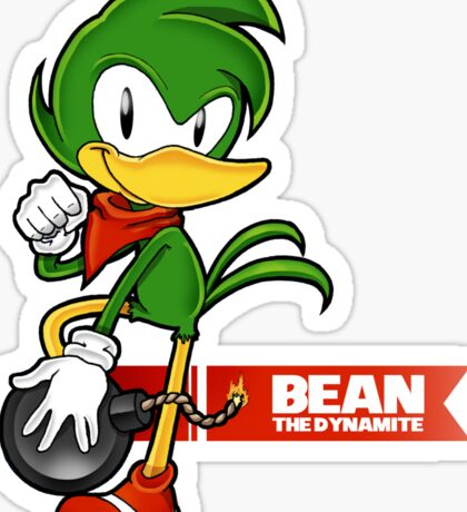 Sonic the Fighters - Bean the Dynamite Sticker