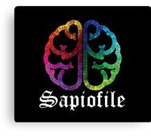 Sapiofile Canvas Print