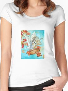 The Key by Ira Mitchell-Kirk Women's Fitted Scoop T-Shirt