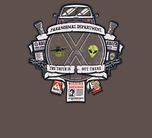 Paranormal Files Crest Unisex T-Shirt