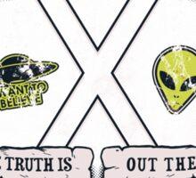 Paranormal Files Crest Sticker