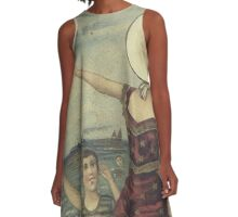 In The Aeroplane Over The Sea A-Line Dress