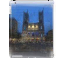 Notre-Dame Basilica Montreal iPad Case/Skin