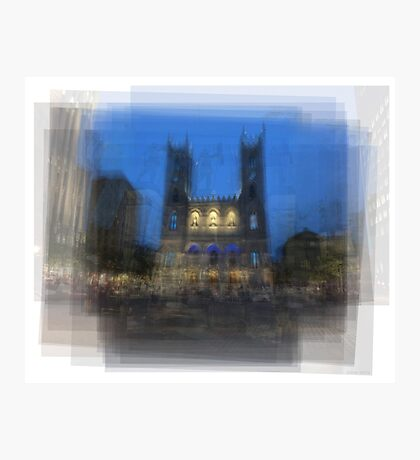 Notre-Dame Basilica Montreal Photographic Print