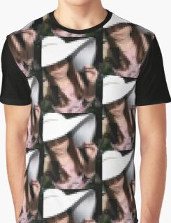 Pixelated Selfie Graphic T-Shirt