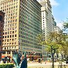 Michigan Avenue/ Past Tense by Nadya Johnson