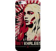 Obey Khaleesi iPhone Case/Skin