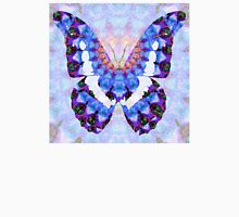Purple Mandala Butterfly Art by Sharon Cummings Unisex T-Shirt