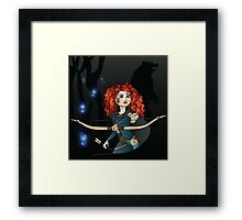 Disney Princesses - Merida Framed Print