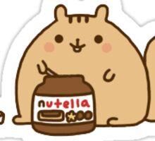 Nutella Cat Sticker
