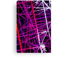 Ferris Wheel Abstract - Dark Mofo 2014 Canvas Print