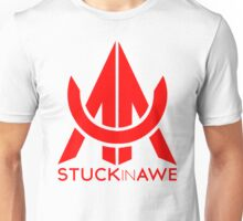 StuckInAwe Red Unisex T-Shirt
