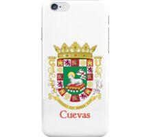 Cuevas Shield of Puerto Rico iPhone Case/Skin