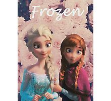 Frozen Photographic Print