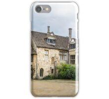 Medieval Courtyard Panorama iPhone Case/Skin