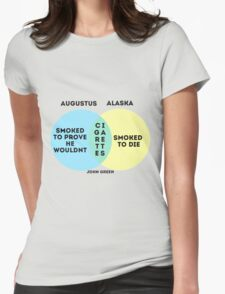 Alaska/Augustus Venn Diagram Womens Fitted T-Shirt