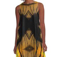 eyelash spider A-Line Dress