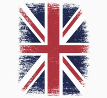 UK Union Jack Vintage Flag  Kids Tee