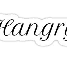 Hangry Sticker