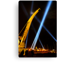 Craning for the Beam - Dark Mofo 2014 Canvas Print