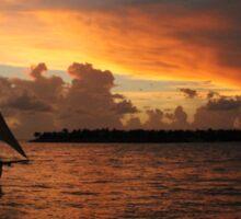 Key West Sunset Sticker