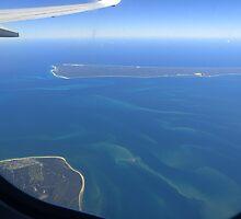 Flying over Moreton Bay by PhotosByG