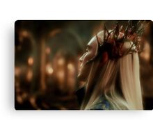 King Thranduil Canvas Print