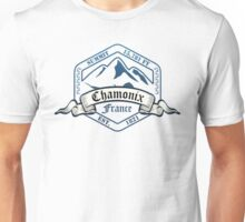 Chamonix Ski Resort France Unisex T-Shirt