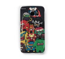 monsters are super heroes Samsung Galaxy Case/Skin