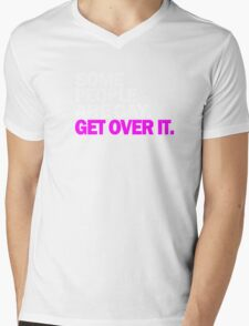 LGBT Gay Pride Parade Swag, unique equality gifts. Some people are Gay Mens V-Neck T-Shirt