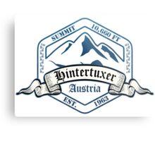 Hintertuxer Ski Resort Austria Metal Print