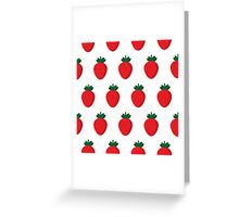Strawberries! Greeting Card