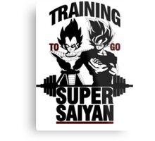 Training to go Super Saiyan v2 Metal Print