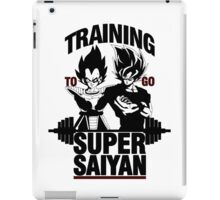 Training to go Super Saiyan v2 iPad Case/Skin