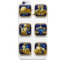Zodiac signs iPhone Case/Skin