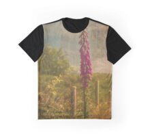 Photo art, Plant, Foxglove, Digitalis purpurea Graphic T-Shirt
