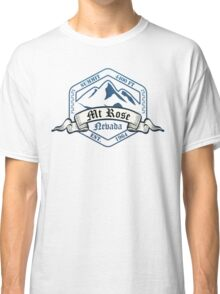 Mt Rose Ski Resort Nevada Classic T-Shirt