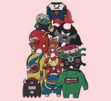 monsters are super heroes One Piece - Long Sleeve